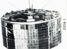 ESSA I, a TIROS cartwheel satellite launched on February 3, 1966