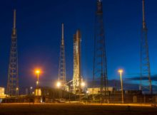 Falcon 9 inainte de lansare