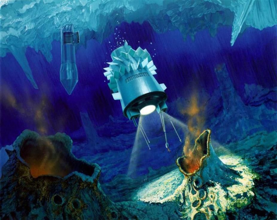 Submarin spatial