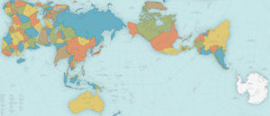 harta exacta a lumii