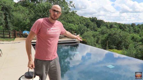 azot lichid piscina