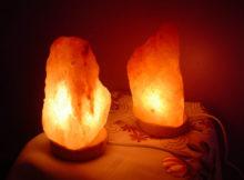lampi din sare