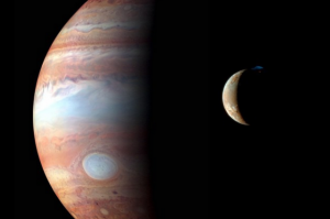 magnificient jupiter is magnificent, majestic io is majestic