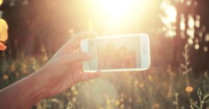 selfie, social media, fericire